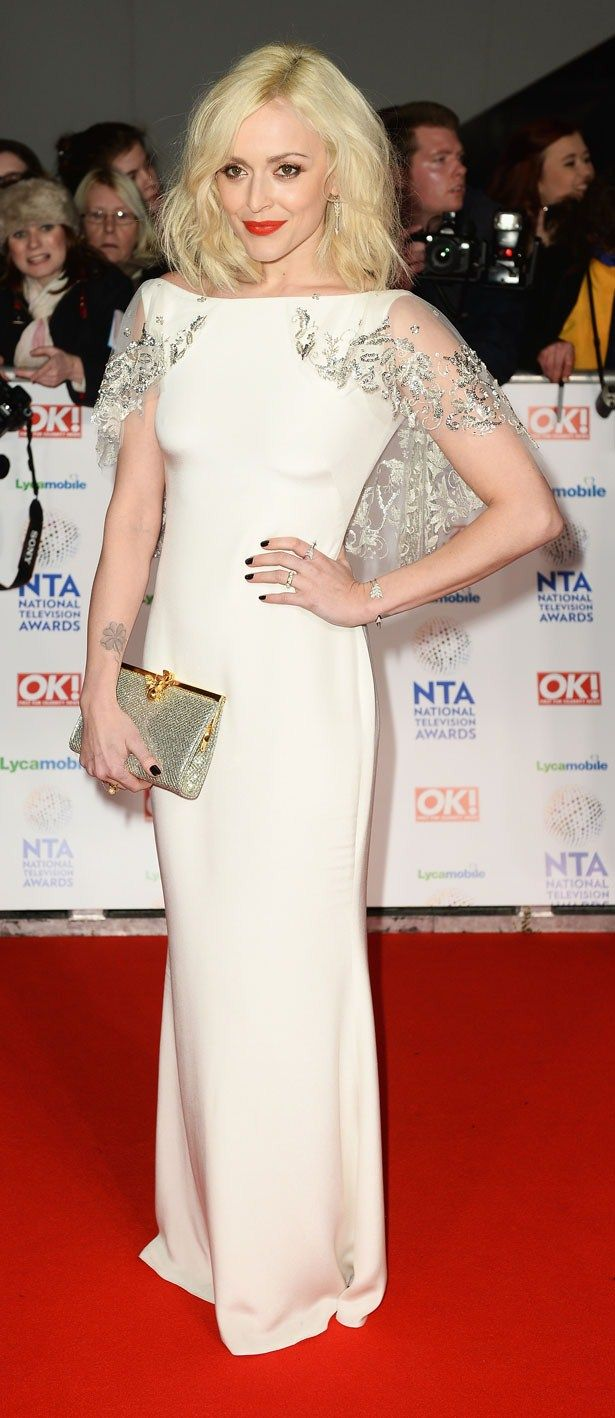 Fearne Cotton - I LOVE the caplet on this dress!! so gorge!