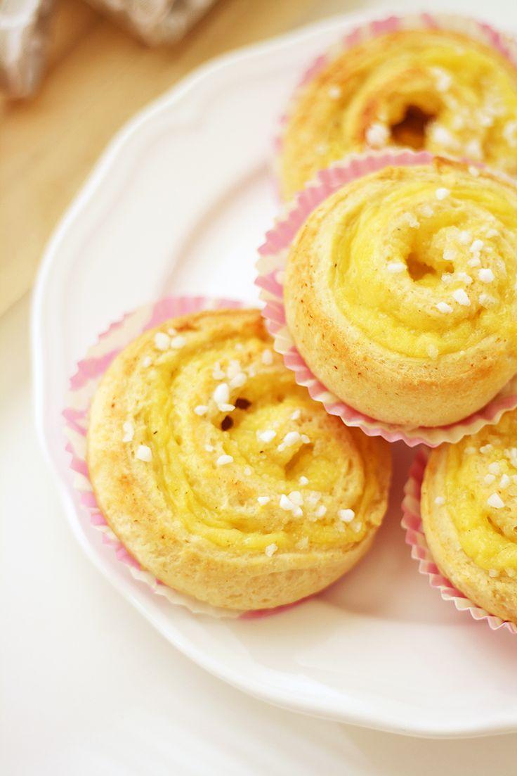 Kukapa ei rakastaisi dallaspullia? Ainakin makulaiset innostuivat täysillä Lunni leipoo -bloggaajan vaniljakierteistä!