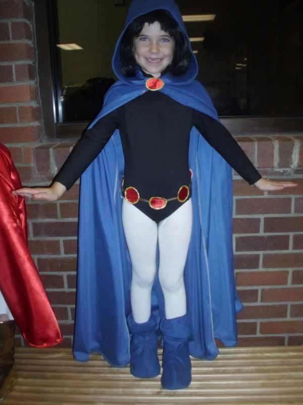 Ideas for Raven costume...since Ellie is insisting I be Raven for Halloween. :/