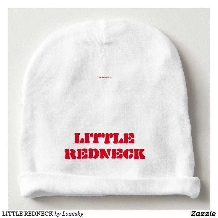 LITTLE REDNECK BABY BEANIE