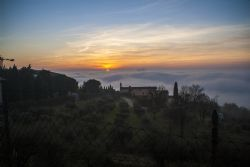 Verona Tramonto Nebbia Sole Natura N/A