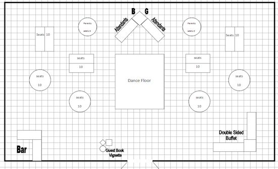 square wedding tables floor plan template trend home