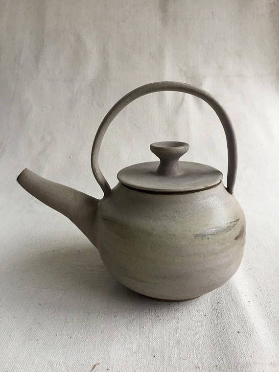 Ceramic Tea Pot Pottery Teapot Handmade Wheel Thrown