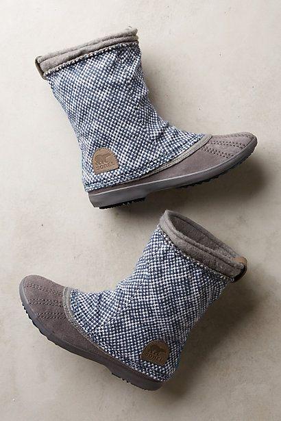 Sorel Tremblant Boots - anthropologie.com I'll take a pair of these dear Santa