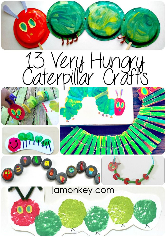 1000 ideas about caterpillar craft on pinterest hungry for Caterpillar crafts for preschoolers