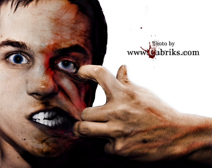 Stephane is crazy!!!!!  Photoshop - 2011  Plus de travaux sur    ==> www.cubriks.com