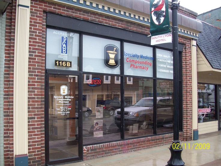 Located in downtown South Lyon, MI, our pharmacy is ready to take care of your compounded medication needs.