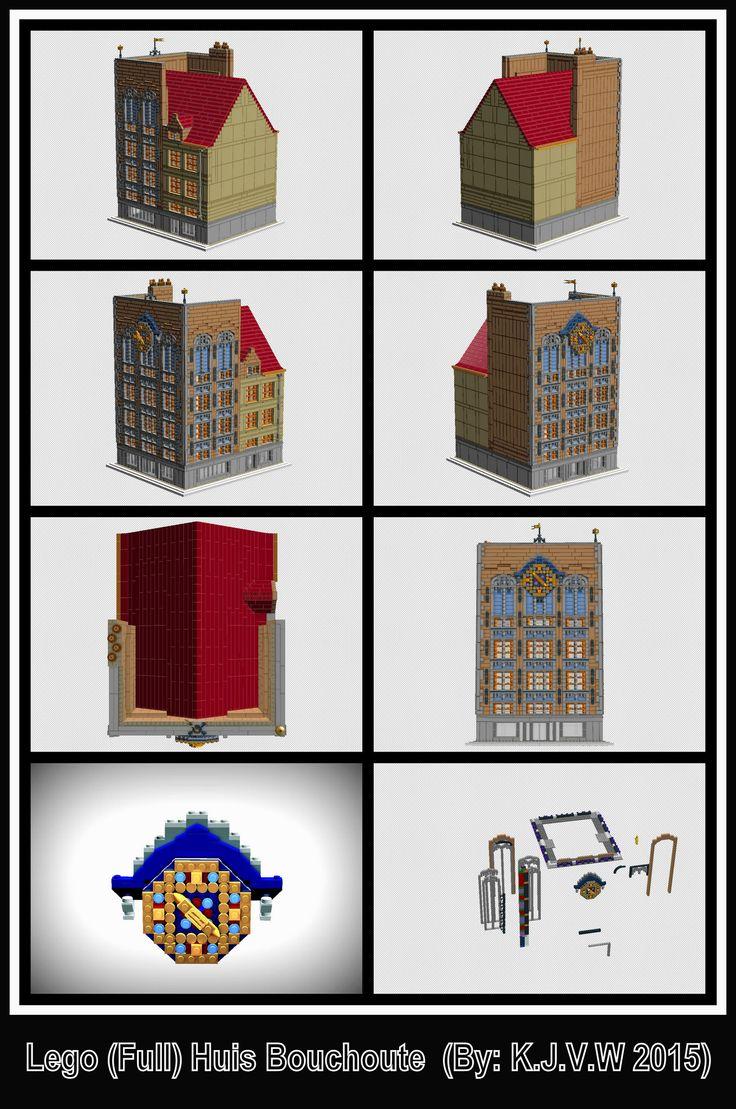 https://flic.kr/p/z9yjuP | Lego (Full) Huis Bouchoute | (See Full Description on Flickr!)