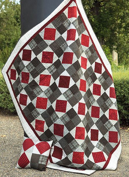 Great quilt! Would like to make one using the same colors