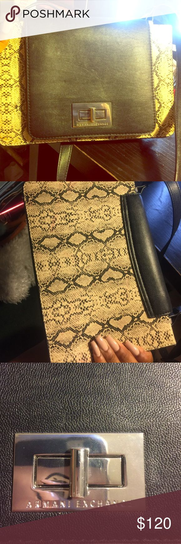 100% authentic Armani exchange cross body never worn , in great condition, no trades 100% authentic Armani Exchange Bags Crossbody Bags