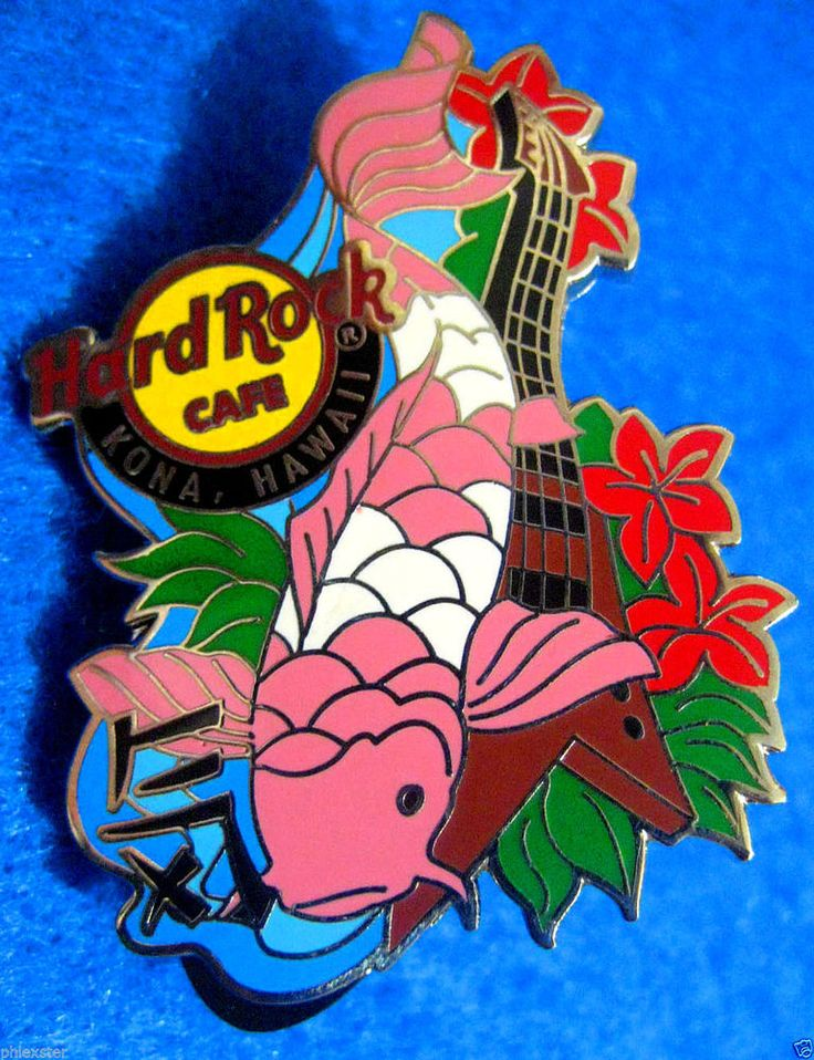 17 best images about hard rock cafe on pinterest myrtle for Koi fish guitar