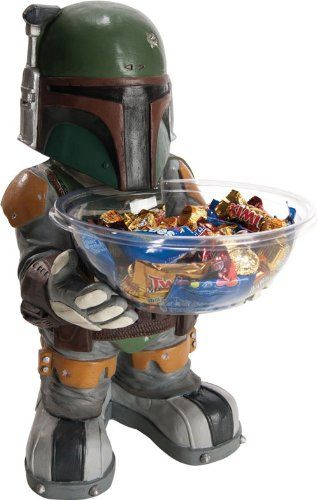 Star Wars Mini Character Candy Bowl Holders At Your Service: Fett Candy, Boba Fett, Stars, Star Wars, Candy Bowl, Bowls, Starwars