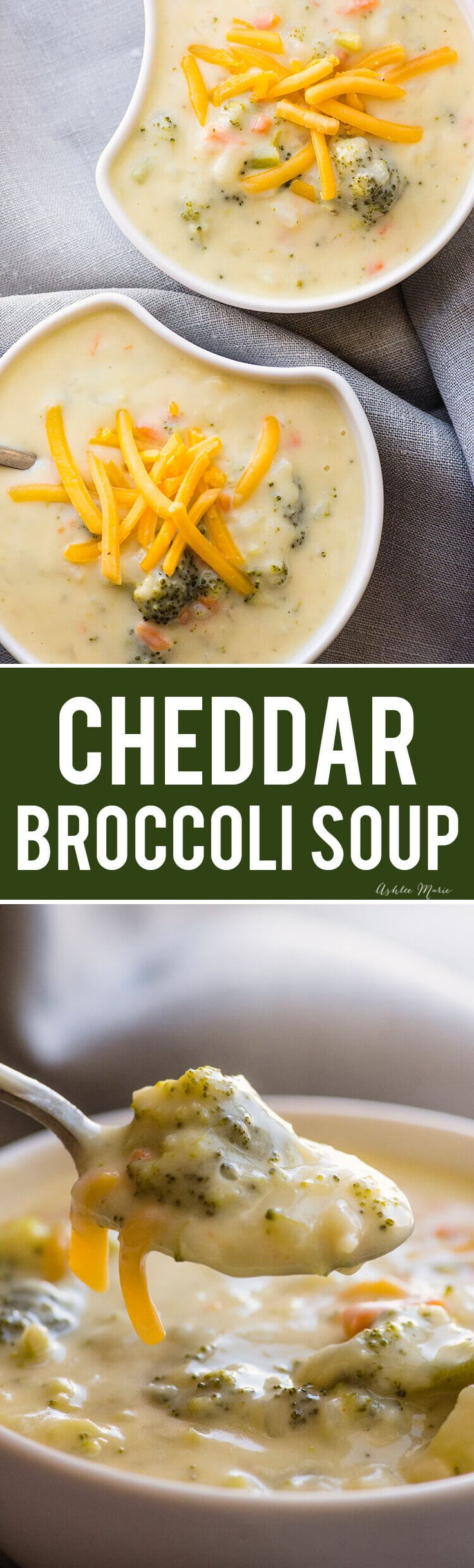 everyone loves this easy cheddar broccoli soup - creamy, full of flavor it's easily my most requested dinner