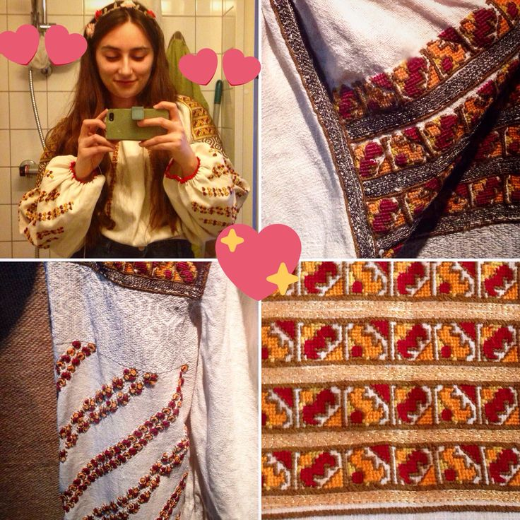Romanian blouse from Bucovina