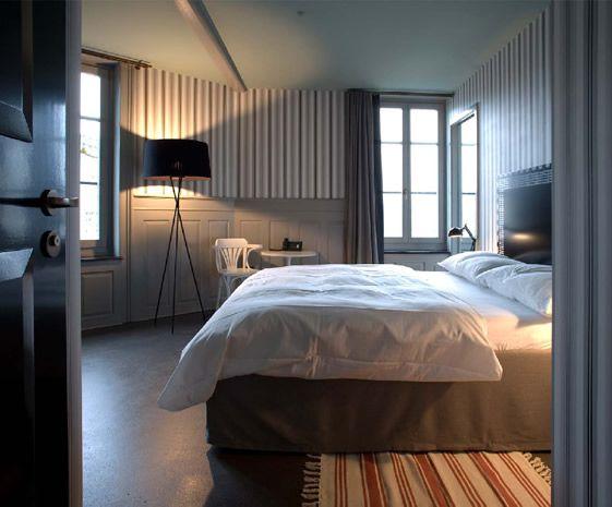 Hotel Restaurant Helvetia, Zurich #hotelinteriordesigns