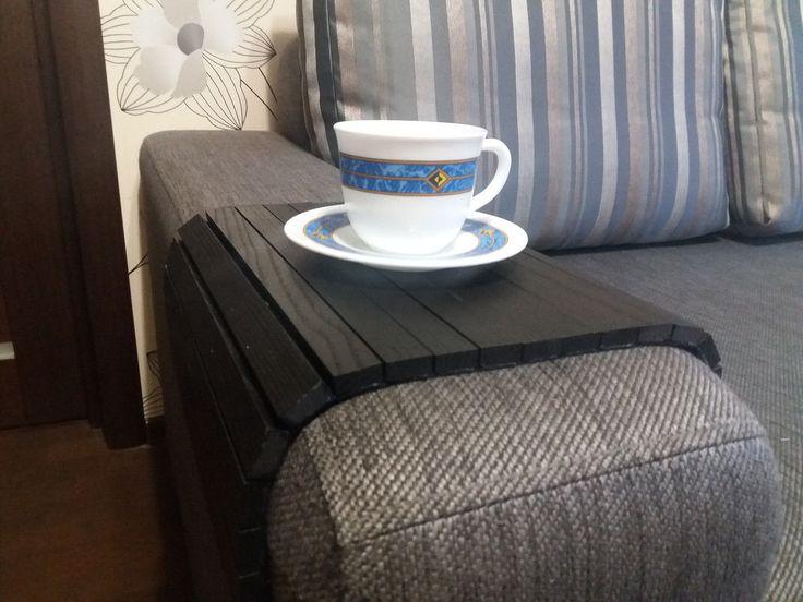 """Деревянный коврик на подлокотник (черный) #2i2ua : продажа, цена в Днепре. декор для мебели от """"2i2ua интернет-магазин """" - 336490204"""