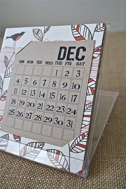 CD calendar holder