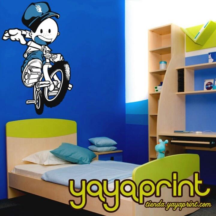 200 best images about vinilos pared decoraci n yayaprint for Vinilos habitacion nino