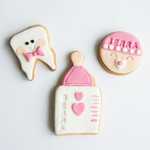 cookizm, ilk diş, şeker hamuru, kurabiye, cookies, iyi ki doğdu, baby shower, baby girl, cookie, biberon