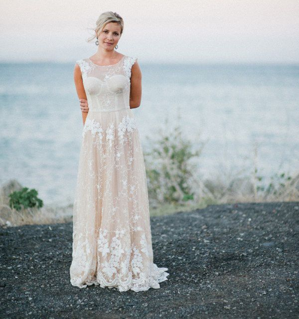2013 Wedding Trends: Wedding Dresses with High Necklines - Wedding Party