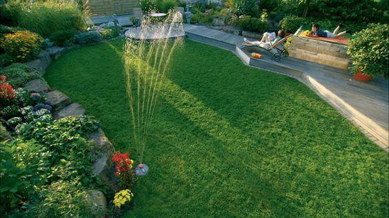 arrosage de jardin Gardena