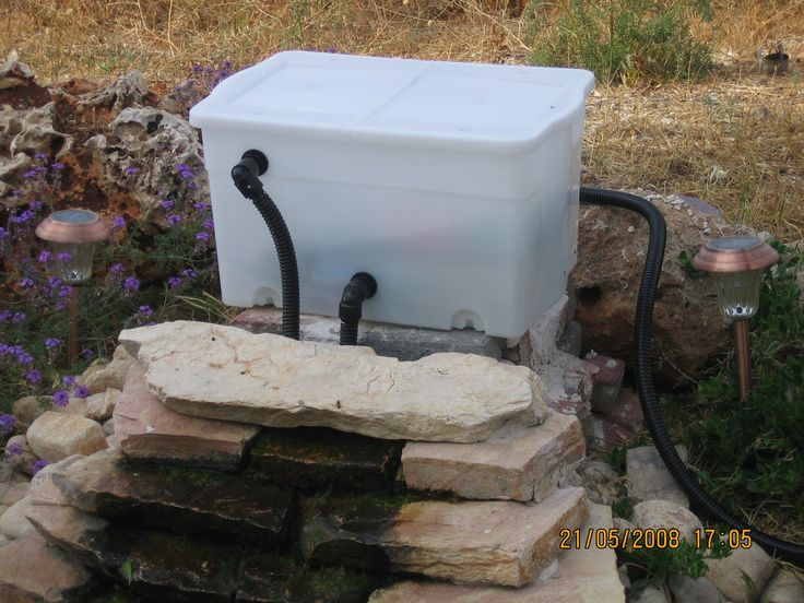 25 best ideas about pond filters on pinterest diy pond for Small pond filter