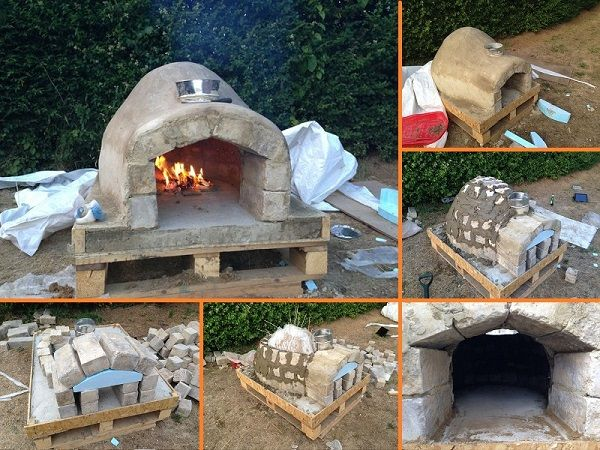 How to Make an Outdoor Pizza Oven
