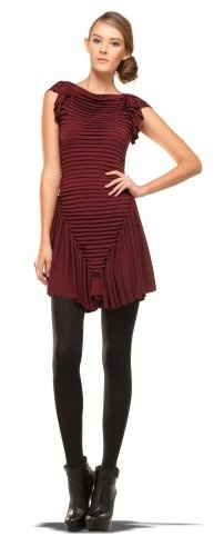 MAXSTUDIO DRESS WITH SIDE DRAPE PORT, XS.  check discount today! click picture on top