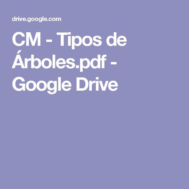 CM - Tipos de Árboles.pdf - Google Drive