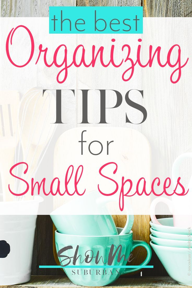 How to Keep Small Spaces Organized | Organizing | Small