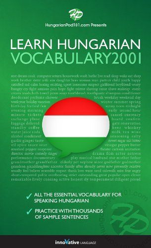 Learn Hungarian - Word Power 2001 by Innovative Language. $9.99