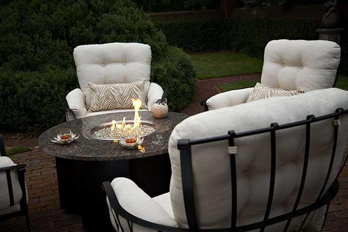 It S That Time Of Year Stop In And Browse Our Wide Selection Of Fire Features And Patio Furniture In Outdoor Furniture Sets Patio Furniture Appliance Store