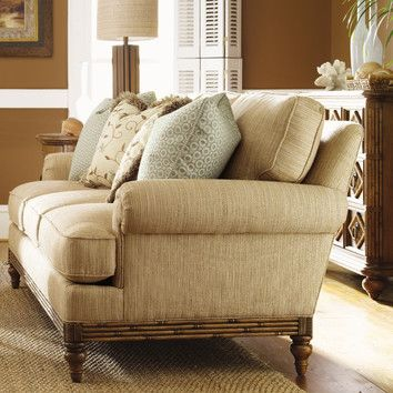 Tommy Bahama Home Tommy Bahama Home Beach House Golden Isle Cotton Sofa
