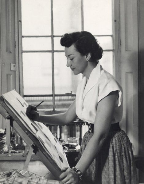 Lucienne Day - British Textile Designer