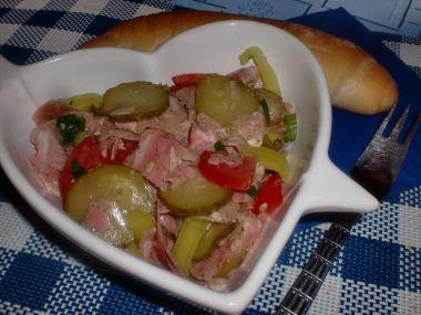 Pražský tlačenkový salát