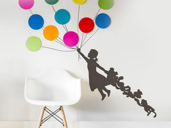 Lovely Pimp your Wandtattoo Wandmotive einfallsreich stylen mit DIY Ideen