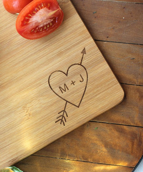 Look what I found on #zulily! Cupid Personalized Cutting Board by 2712 Designs #zulilyfinds