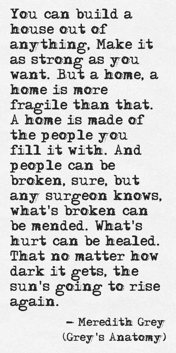 114 best Grey\'s Anatomy images on Pinterest | Grey anatomy quotes ...