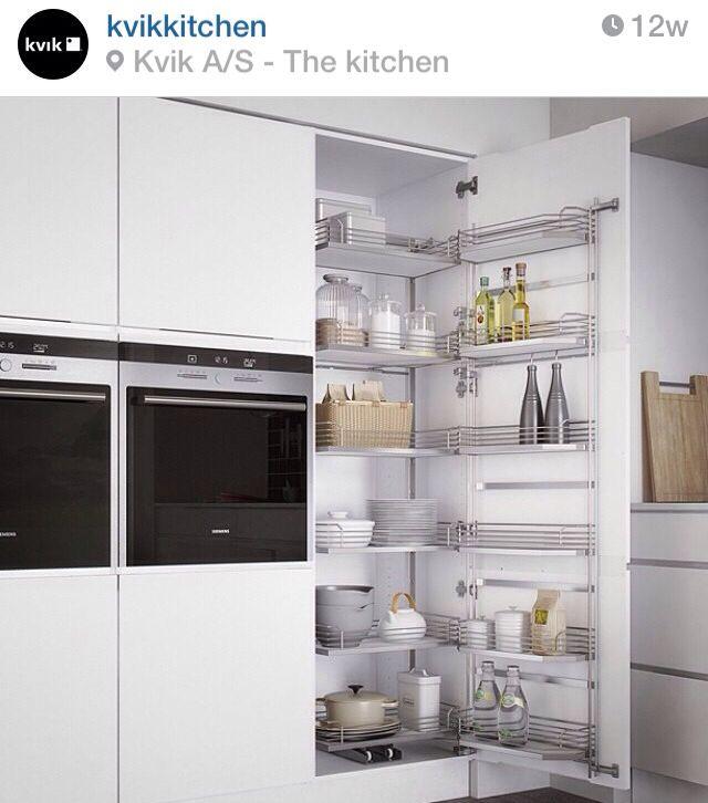 Kitchen storage from Kvik