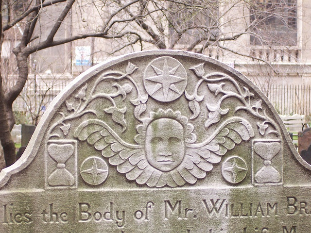 Tombstone in NYC  by HA! Designs - Artbyheather, via Flickr