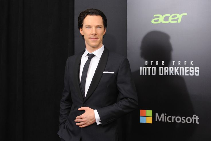 """Benedict Cumber--WHO?! Huffington Post definitely got this right labeling him as """"Hollywood's Sexiest Villain."""" ;-)"""