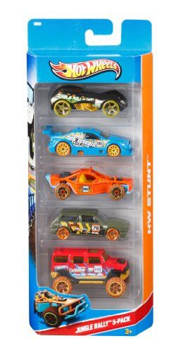 Hot Wheels 5 Vehicle Pack (Pack may vary): Amazon.co.uk: Toys & Games