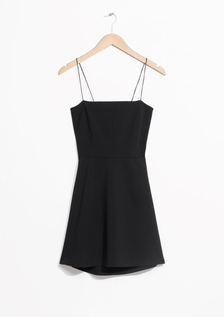 & Other Stories image 1 of Tie Dress in Black