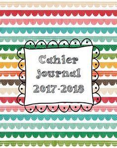 Aujourd'hui je partage mon cahier journal de l'année prochaine spécial CAPEJS, pour être hyper méga organisée (hum hum) ! Il en pdf et en word pour pouvoir l'adapter à des postes différents, et enlever les fioritures si vous voulez parce que j'en ai mis...