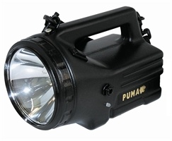 Nightsearcher Puma Lite Rechargeable Searchlight. Description:  .750 lumens  .30W and 20W halogen bulbs  .Lightweight Ni-MH battery  .Supplied with: Mains charger and shoulder strap. #Torches, #Flashlight, #Torch, #Searchlights - http://www.rapidtoolsdirect.co.uk/category/torches-lamps