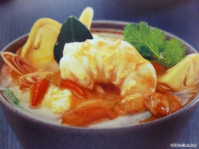 Как готовить тайский суп том кха кай