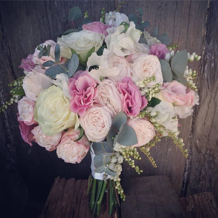 pink lissi, clustar roses, white sweetpeas and cream roses, created by lovely bridal blooms