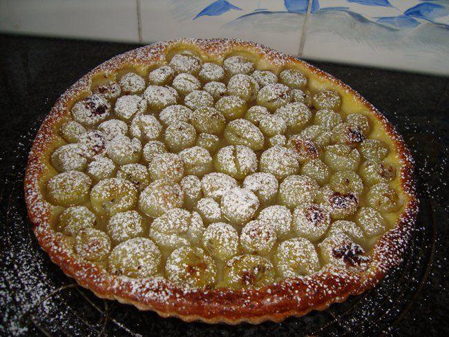 Recept voor Kruisbessen, kroenselen of stekelbessentaart. Meer originele recepten en bereidingswijze voor fruitgerechten vind je op gette.org.
