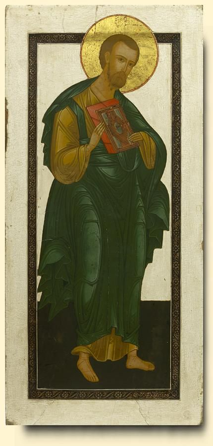 Saint Bartholomew the Apostle - exhibited at the Temple Gallery, specialists in Russian icons