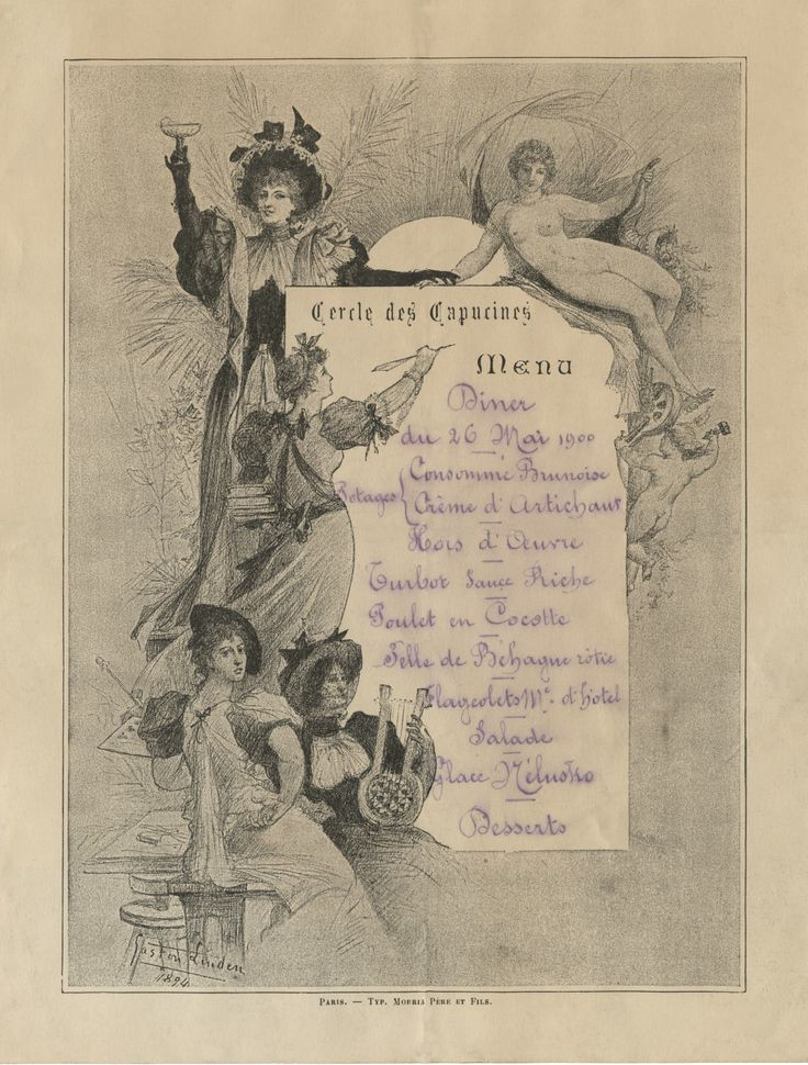 12 best French Menu Art images on Pinterest Vintage menu, French - french menu